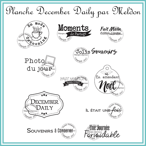 planche december daily