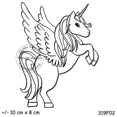2 de 2 tampon licorne ailee par diddy2703 - Coloriage licorne ailee ...