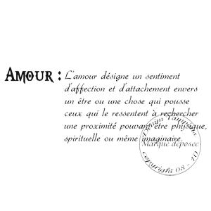 2 de 2 tampon amour definition par v ro2a. Black Bedroom Furniture Sets. Home Design Ideas