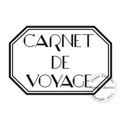 Célèbre 2. de 2 à 4.99 € : TAMPON CARNET DE VOYAGE par Meldon QW14