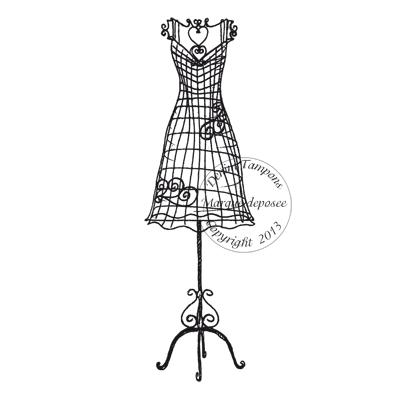 2 de 2 tampon mannequin couture par diddy2703. Black Bedroom Furniture Sets. Home Design Ideas